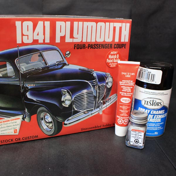 Model Car Kits from Knapps